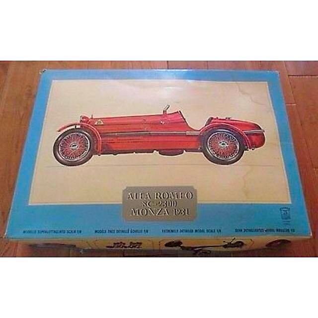 BN Sealed Pocher Alfa Romeo C Monza Scale Model Car - Alfa romeo scale models