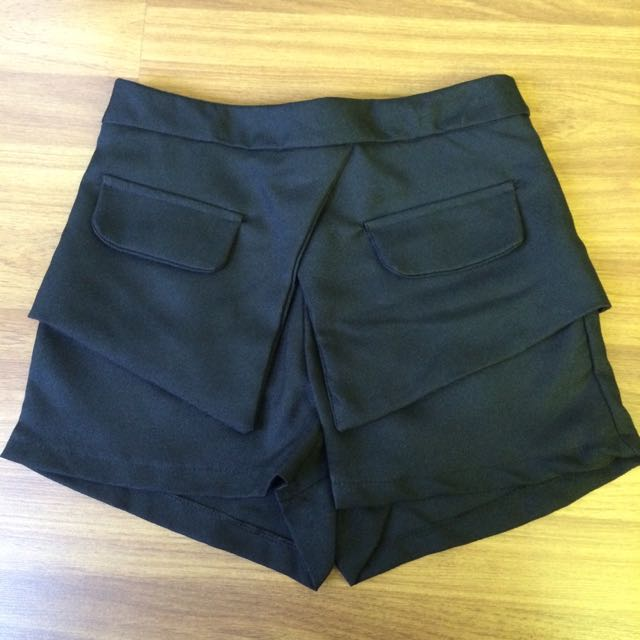 Brand New Blazer-over Shorts