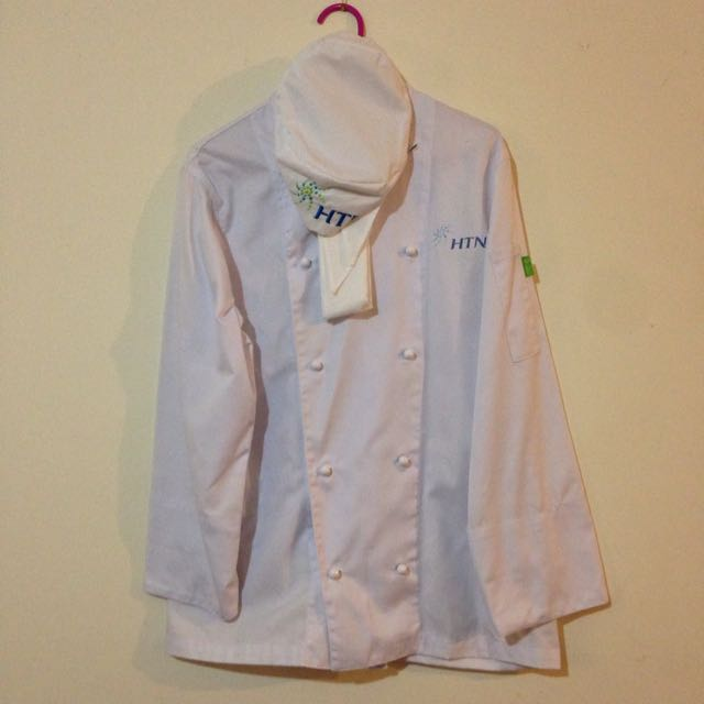 Chef Jacket, Hat And Neckerchief HTN branded