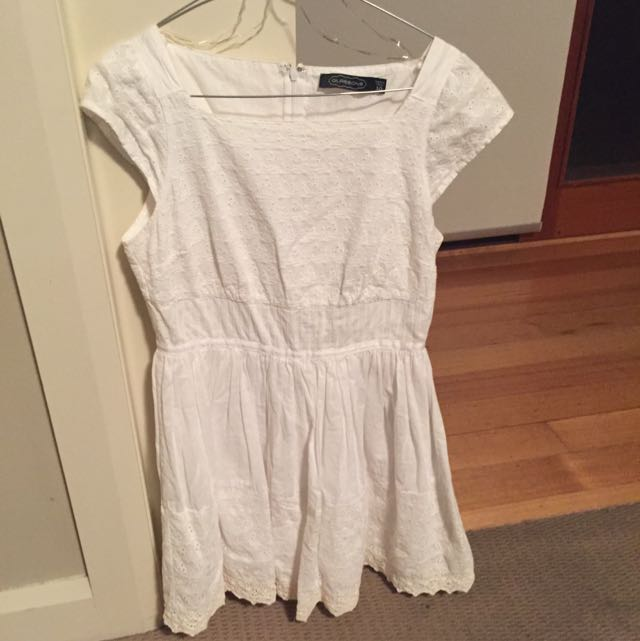 Glassons White Dress