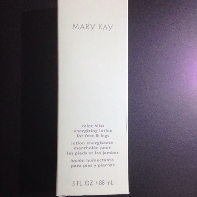 Mary Kay Mint Foot Lotion