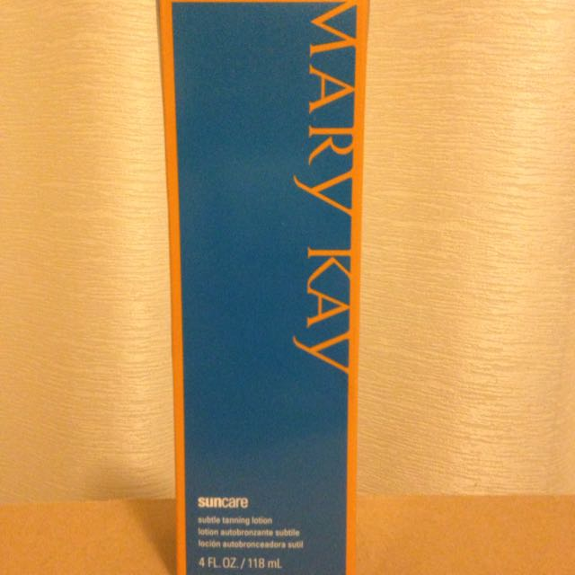 Mary Kay Tanning Lotion