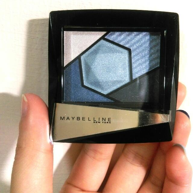 Maybelline藍色眼影