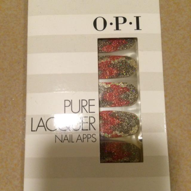 降價*OPI美甲貼片 指甲貼紙(全新)