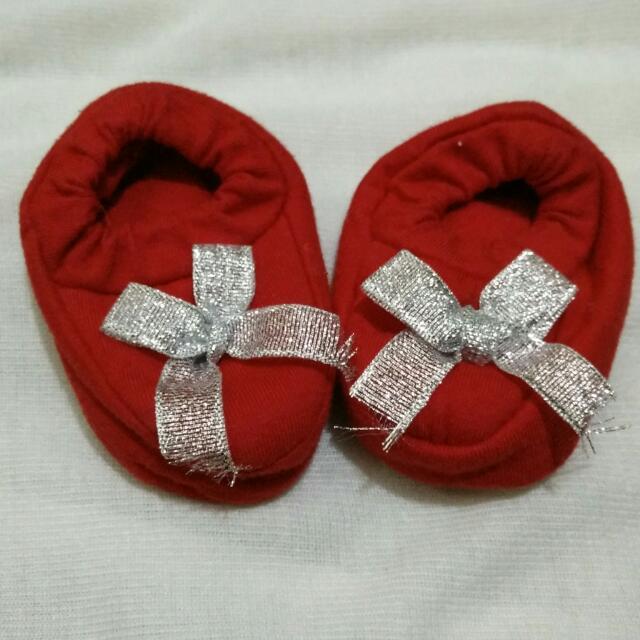 Sepatu Bayi - Red