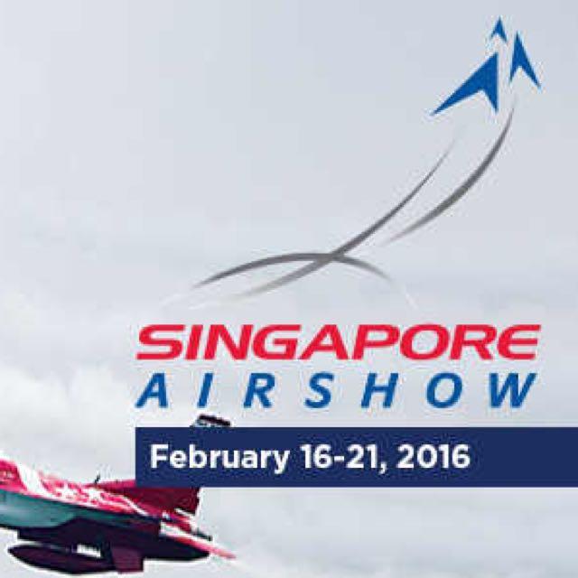 Singapore Airshow 2016 Single Ticket