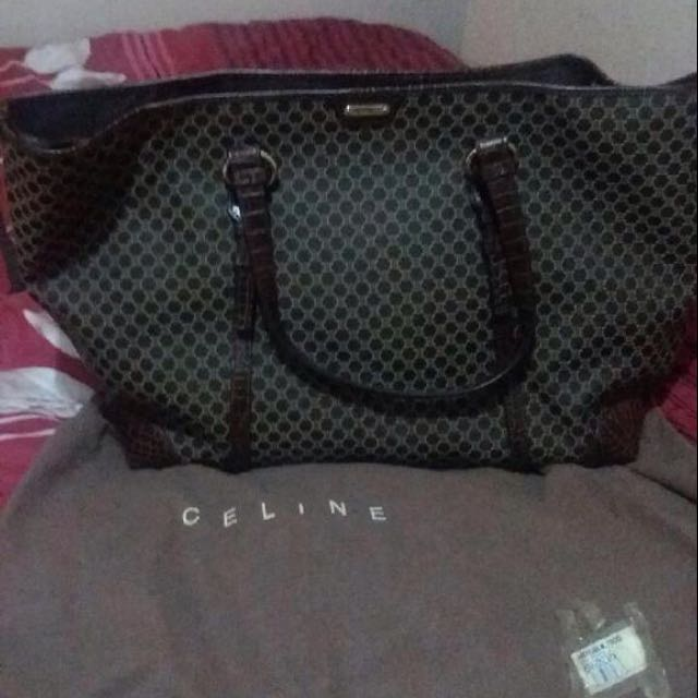 Tas Celine Original Pure,warna Coklat..good Condition..Only One Time I Used It..