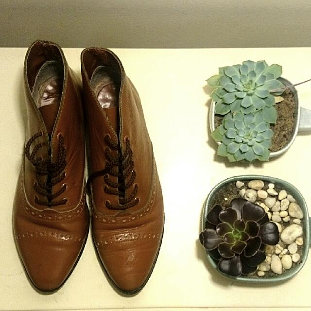 Indie Leather Booties