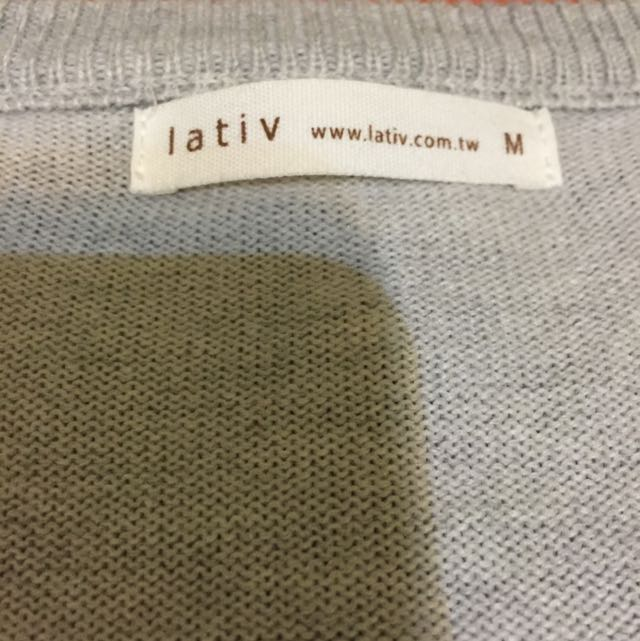 V領,針織衫毛衣,M號,九成新