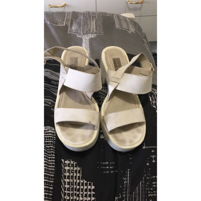 White Size 8 Chunky Shoes