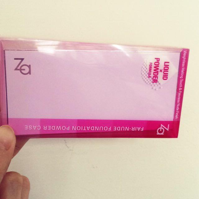 Za粉餅+粉盒 全新 色號b010