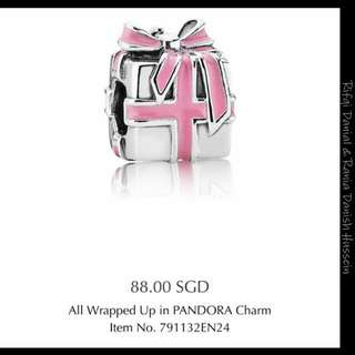 All Wrapped Up Pandora Charm