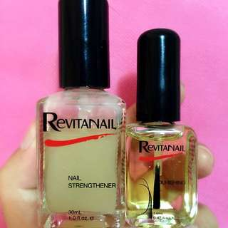 Revitanail Nail Strengthener And Nourishing Oil Set