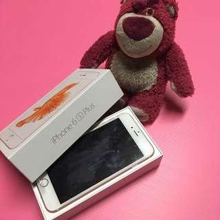 I PHONE6S Plus 128G 玫瑰金