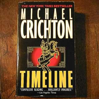 【時光機】 【Timeline】二手原文書  Michael Crichton