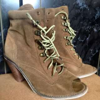 Rubi Lace Up Boots Size 7