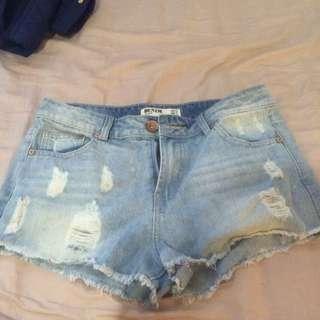 Cotton On Size 12 Denim Shorts