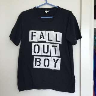 Fall Out Boy T-shirt Med