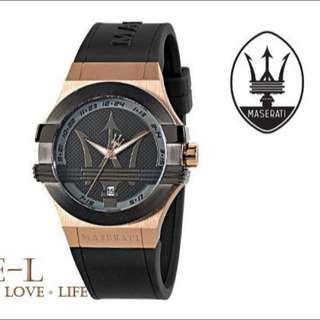 【面交驗貨】瑪莎拉蒂 Maserati Time 精品腕錶 R8851108002
