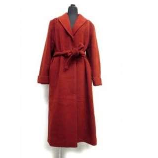 Dior 紅色大衣 長版大衣 dior外套 Christian Dior❤️