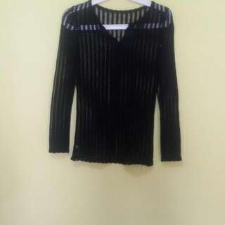 Knit Black Top