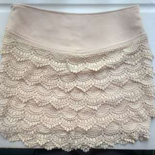 Chic a Booti Lace Skirt