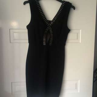 Chic A Booti Black Dress Size Small