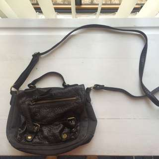 Small Black Side Bag