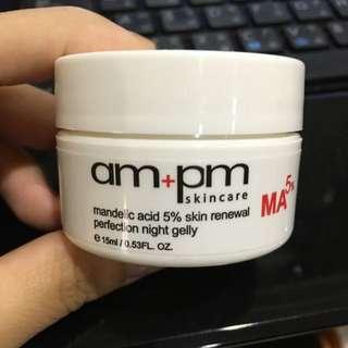 牛爾ampm杏仁酸5%煥膚晚安凍膜