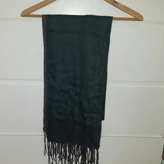 Two Tone Shawl (Green & Grey)