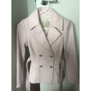 Forever New Pink Coat (worn once)