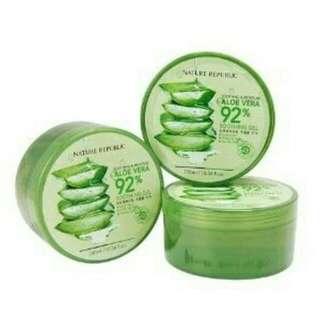 Nature Republic Aloe Vera Soothing / Aloe vera gel Lidah Buaya 300ml