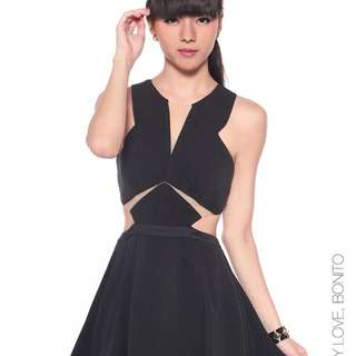 love bonito cutout dress size s
