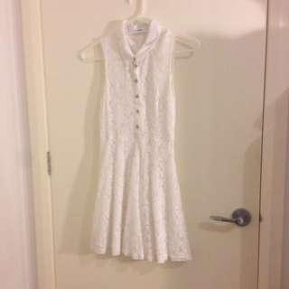 Valley Girl White Dress