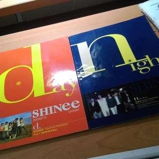 SHINee Day Night 寫真 中國版 周邊 DVD