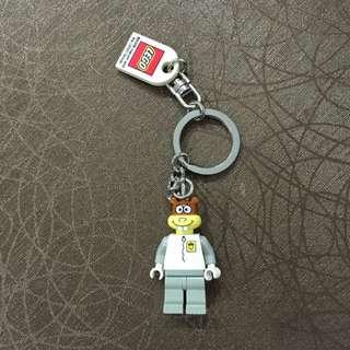 Sandy Lego Keychain