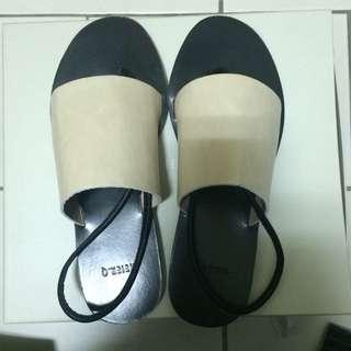 MEIER.Q裸色涼鞋