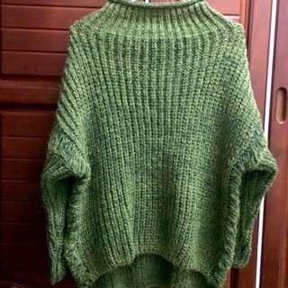 混料高領毛衣
