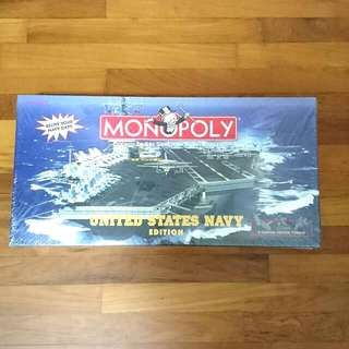 BN Monopoly US NAVY EDITION. Collection item!  Not Opened!