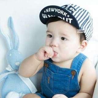 QF028 男女童 韓國 夏 寶寶帽子 兒童帽 遮陽帽 春夏 鴨舌帽 棒球帽