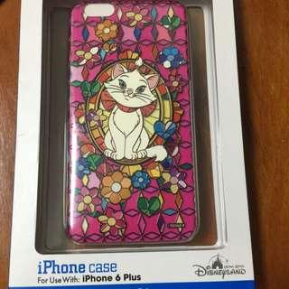 香港迪士尼購入 全新iPhone 6plus手機殼 瑪莉貓