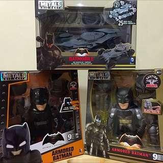 Batman vs Superman Metal Die Cast Series
