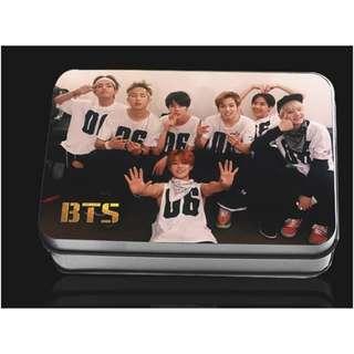 韓國 韓版 BTS 防彈少年 自拍款 LOMO 拍立得 40張 含鐵盒