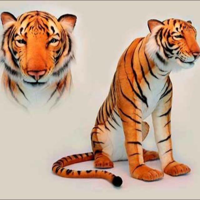 大型老虎玩偶