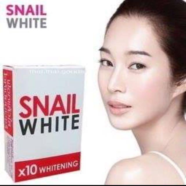 曼谷大牌美白保濕蝸牛皂現貨