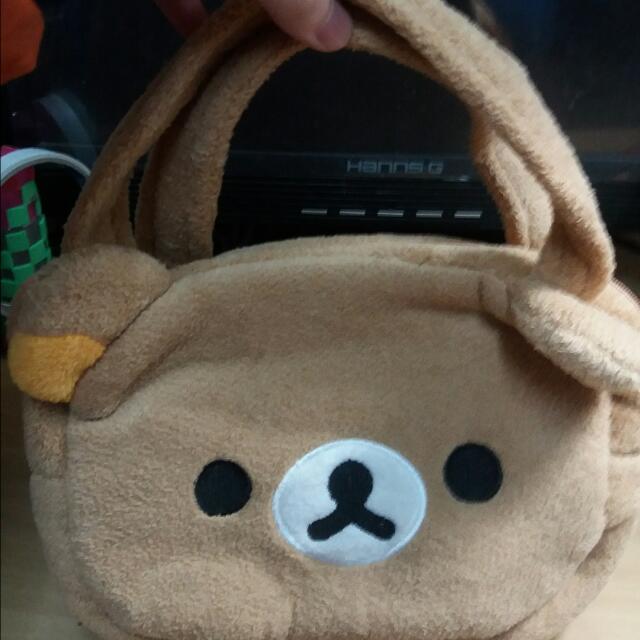 拉拉熊手提包