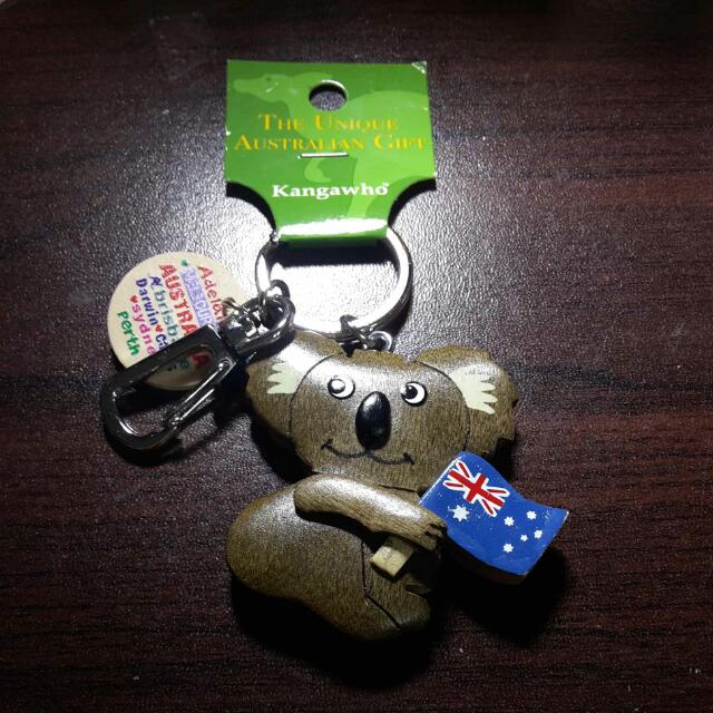 (含運)澳洲無尾熊鑰匙圈