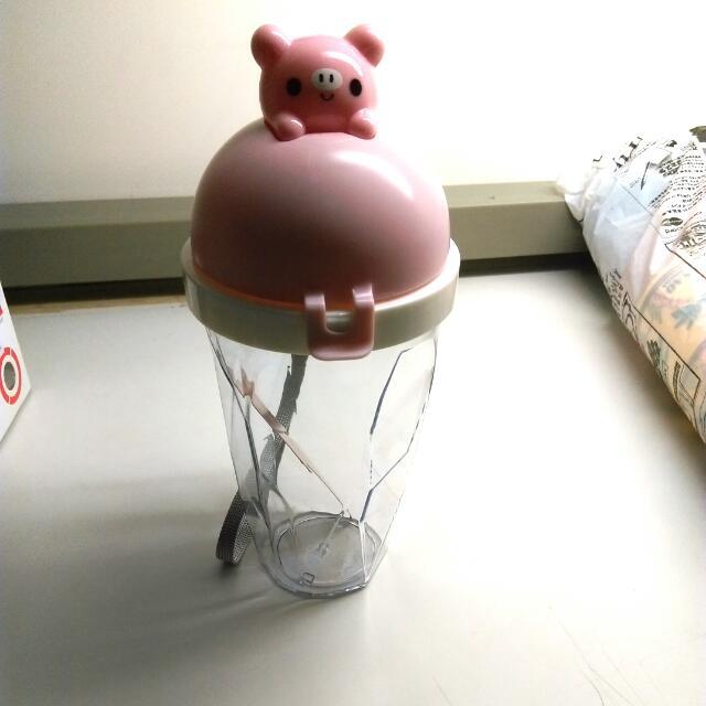 小豬冰淇淋水壺