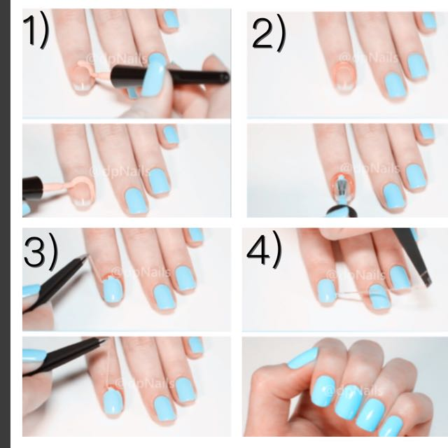 Must Buy Promotion 2 For $18 ) Dp Simply Peel Off Barrier . Nails ...