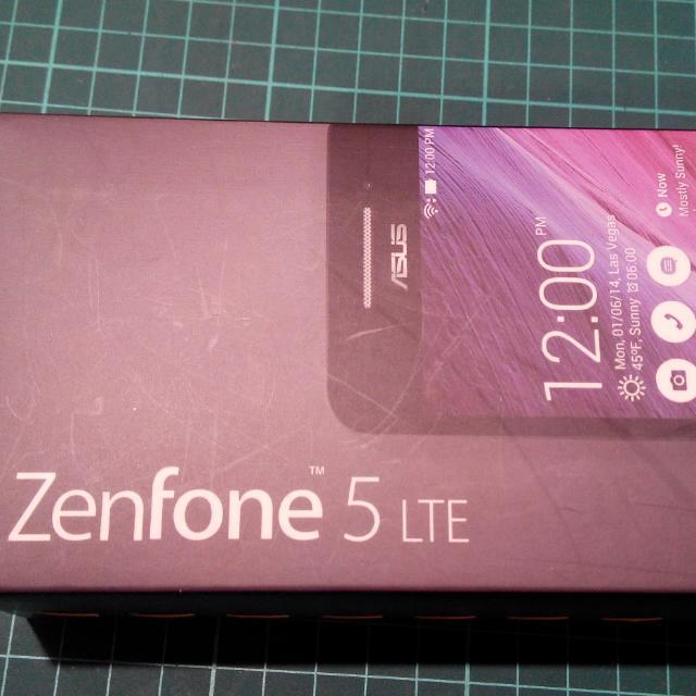 ASUS Zenfone 5 HD多核心4G手機(5吋A500KL)-黑色